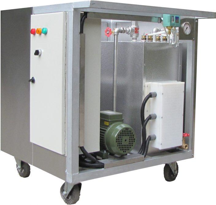 مولد بخار سیار (ظرفیت از ۱۰۰ تا ۵۰۰ کیلوگرم بخار در ساعت)